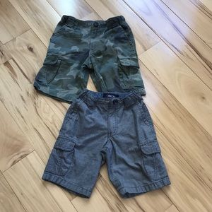 Lot of boys like new shorts.